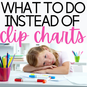 What to do instead of clip charts
