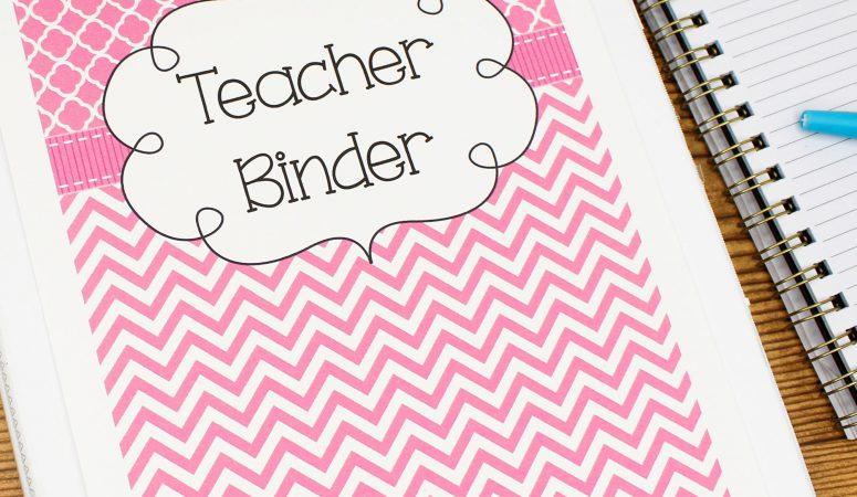 What's Inside My Teacher Binders?